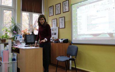 Primera movilidad del Erasmus+ «Developing students' competences»
