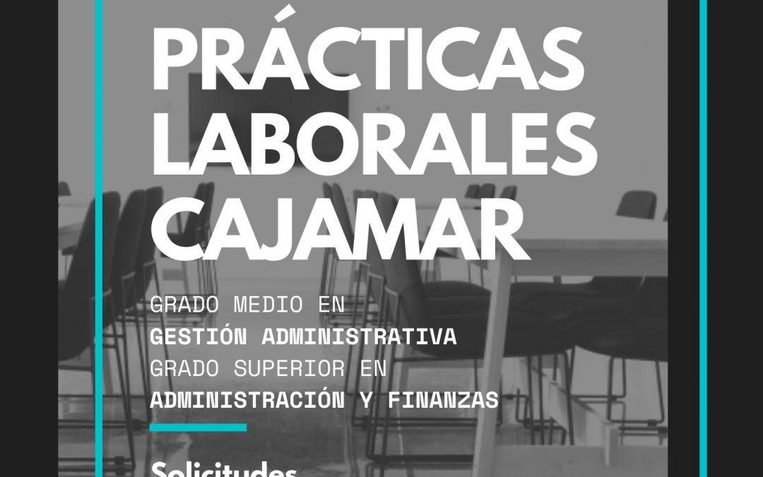Convocatoria para la realización de prácticas formativas en CAJAMAR (Curso 2020).