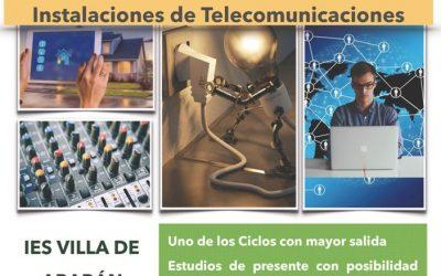 Vuelve el Ciclo Formativo de Instalaciones de Telecomunicaciones al IES Villa de Abarán.