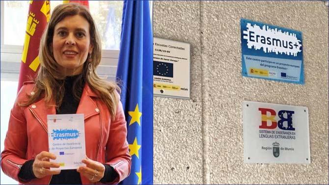 Premio para el IES Villa de Abarán por su gran trayectoria ERASMUS.