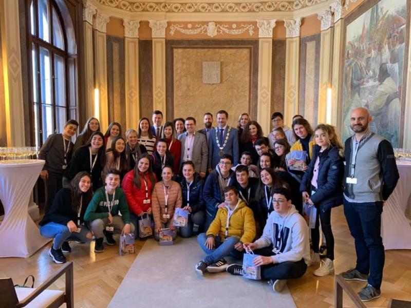 """Intercambio de alumnos del programa Erasmus+ """"Conectados con los idiomas"""""""