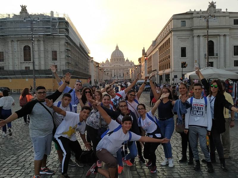 MOVILIDAD ERASMUS A ROMA DEL IES VILLA DE ABARÁN