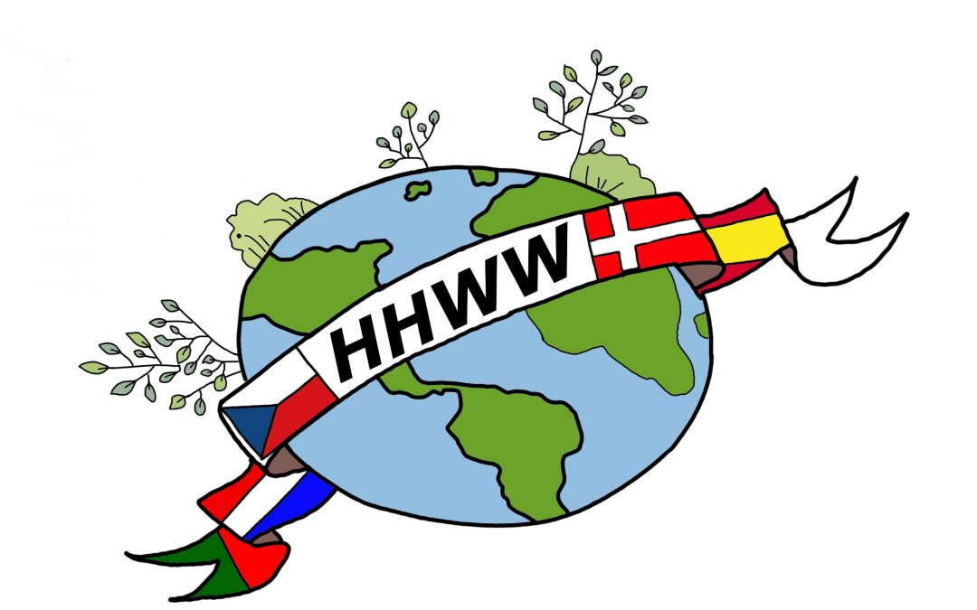 """Ganadores del concurso de logos para el Erasmus+ """"Happy, Healthy, Wise and Wealthy"""""""