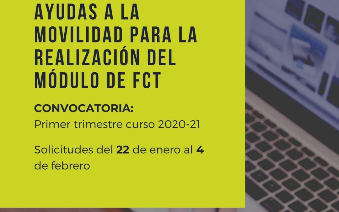 Ayudas a la movilidad para la realización del módulo de FCT