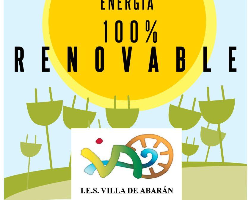 Energía 100% renovable para nuestro IES